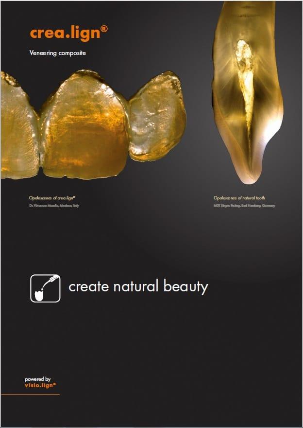 crea.lign Veneering composite brochure